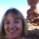 Helen and Balancing Rock, Arches National Park