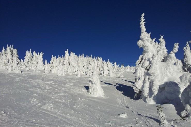 Sun Peaks Resort very cold