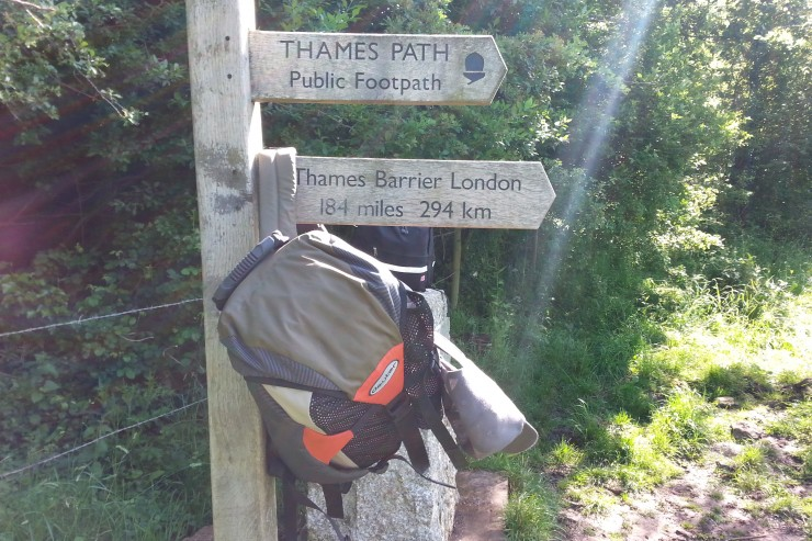 The Thames Path Day 1