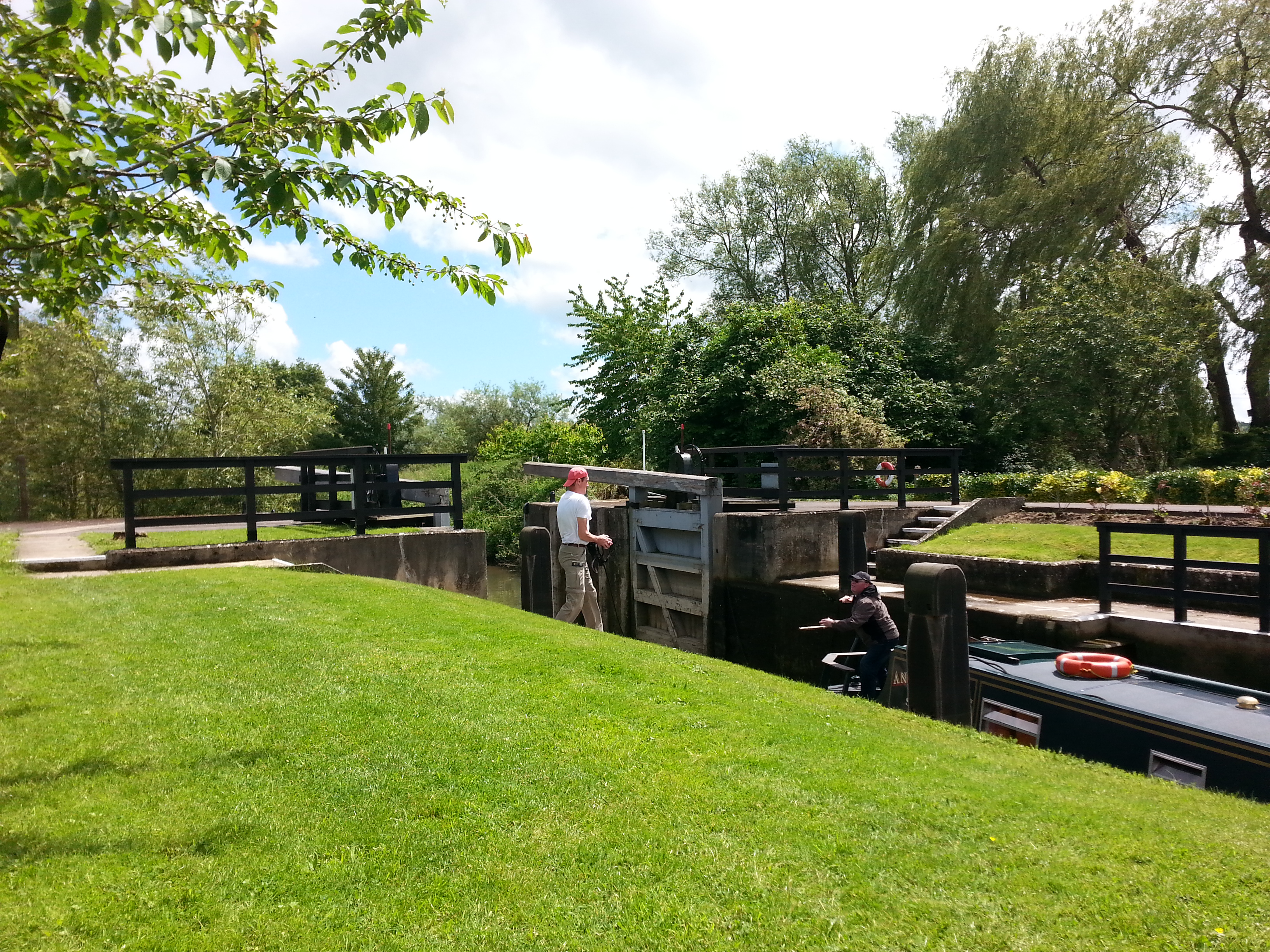 Rushey Lock the 5th lock from the source