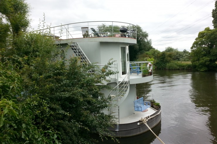 Houseboat near Staines