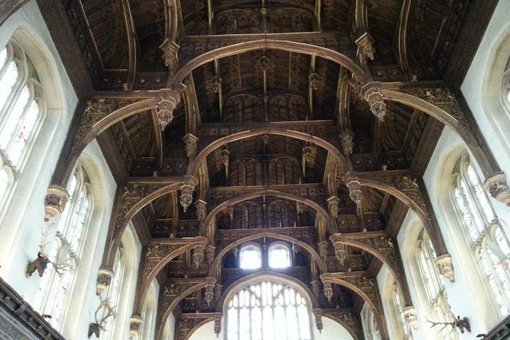 Thr Great Hall Hampton Court