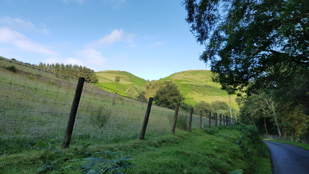 The Valley to Llanidloes