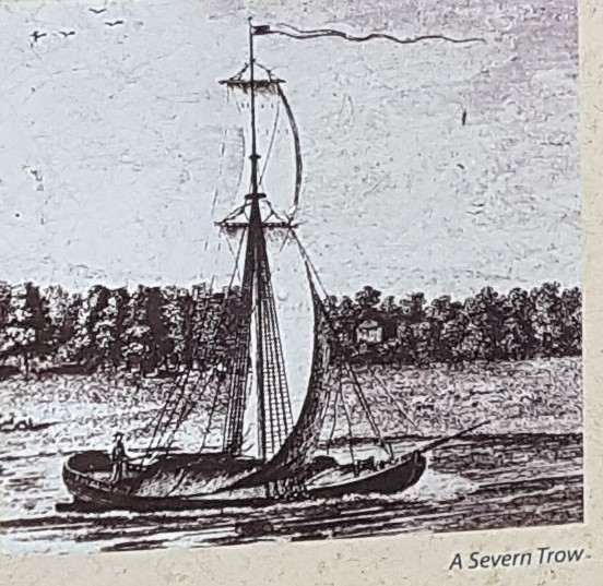 A Severn Trow used for transporting goods on the River Severn
